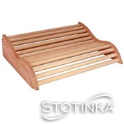 Vzglavnik leseni za finsko savno klasik
