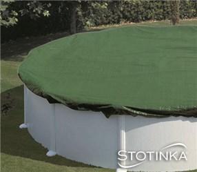 Pokrivalo za bazen 610 x 375 cm zaščitno