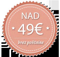 Brezplačna dostava nad 49 €